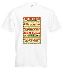 The Beatles Abergavenny Concert Poster T Shirt John Lennon Paul McCartney