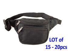 New Black Waist Fanny Pack Belt Bag Pouch Travel Sport Hip Purse Men Women Lots
