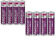Tecxus Accus Aa Mignon 2700 MAH et AAA Micro 600 MAH Solaire Rechargeable Piles