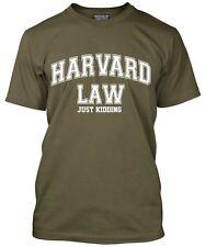 Harvard Law-Just Kidding Men's LOOSE FIT T-SHIRT università