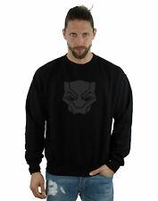 Marvel Hombre Black Panther Black On Black Camisa De Entrenamiento