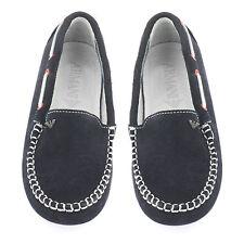 Armani ADOLESCENTE BLEU MARINE garçons MOCASSIN/chaussures