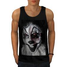 Payaso asesino Metal Horror Men Camiseta sin mangas Nuevo | wellcoda