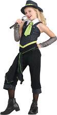 Gangster Moll Childrens Girls Classic Bugsy Malone Costume Fancy Dress