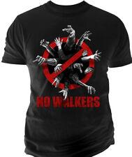 T-shirt HOMME NOIR THE WALKING DEAD Taille S XXL 2XL zombies horreur walkers