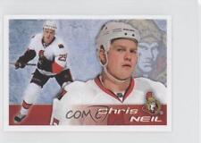 2011-12 Panini Album Stickers #119 Chris Neil Ottawa Senators Hockey Card