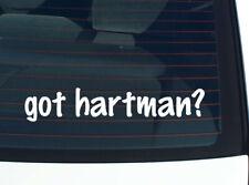 got hartman? FAMILY TREE REUNION LAST NAME SURNAME DECAL STICKER CAR WALL CUTE