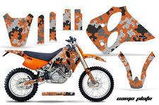 AMR RACING MOTO KTM GRAPHIC KIT STICKER DEKOR LC4 93-99 400/620/540 PART CAMO OR