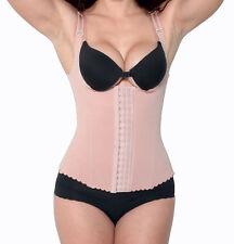 Powernet Body Shaper Vest with Adjustable Bra Straps Shapewear Waist Cincher