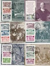 1992 Colombo - Portogallo - 6 foglietti annullati