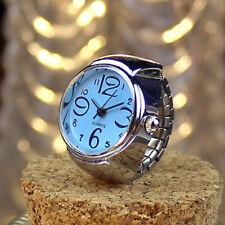 2018 Men Women Ring Watches  Creative Steel Elastic Finger Analog Quartz Watch
