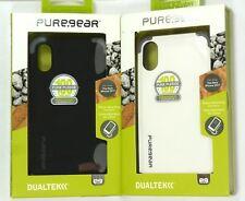 for iPhone X/Xs, PureGear DualTek Extreme Shock Tough Impact Case, Great Grip