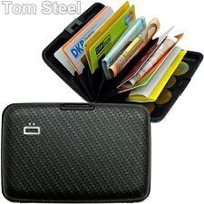 ÖGON Aluminium(Carbon)EC-Kartenetui Kreditkartenetui Geldbörse ALU Card Case NEU
