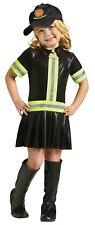 Fire Fighter Child Girls Costume Uniforms Fireman Halloween Funworld Toddler