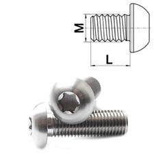 Vis en titane, M8 x 16-30 mm tête conique ISO 7380 Grade 5 Torx