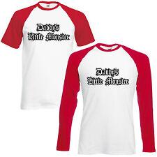 A Papino piccolo mostro Baseball T-shirt Lil Harley Quinn Cosplay ispirato Top