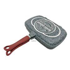 Fornetto Sanity Stone Granito Doppia Bistecchiera Antiaderente PFOA-FREE