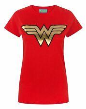 Licence Officielle Wonder Woman effet vieilli Logo T-shirt femme S-XXL tailles