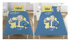 Fallout Vault Boy Panel Reversible Bedding Set Luxurious Duvet Cover Pillow Case