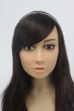 soft silicone female mask, feminizing costume crossdress 16 different girls SH-1