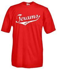 Maglia Teramo J626 Storica Promozione Serie B 2015 Ultras T-shirt Cotone Calcio