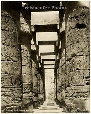 Karnak the Colonade by G. Safe, Orig. Photo, ca. 1900