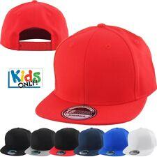 Junior Kid Size Cotton Snapback Adjustable Baseball Cap Youth