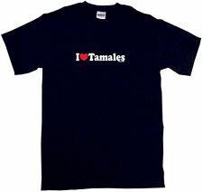 I Heart Love Tamales Mens Tee Shirt Pick Size Color Small-6XL