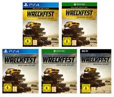 Wreckfest   Standard / Deluxe Edition   PS4 / XBox ONE / PC   Rennspiel  