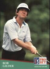 1991 Pro Set Golf Card #56 Bob Gilder