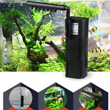 200/300L /H Aquarium Fish Tank Filtration Internal Filter Submersible Water Pump