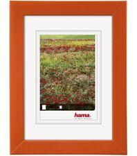 Hama Holz-Rahmen Foggia Mandarine 30x40 40x50cm Bilder-Rahmen Poster Fotos Wand