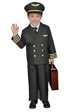 Dress Up America Kids Little Boy Pilot Jacket Pretendplay Costume Set