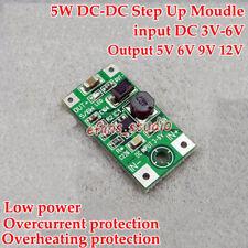 5W DC-DC Boost Step Up Volt Converter 3V-6V 3.3V to 5V 6V 9V 12V Mini Regulator