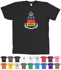 Québec Canada Coat of Arms T-Shirt Quebec Province Logo Tee - MORE COLORS
