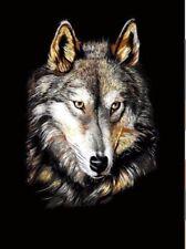 Throw Blanket Faux Fur 3D Wolf Print Mink Sofa Bed Soft Fleece King (200x240)