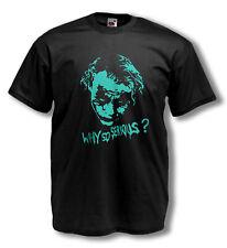 JOKER T-shirt - Heath Ledger - Flock print on Men's NEW 2XL FOTL / SALE PRICE