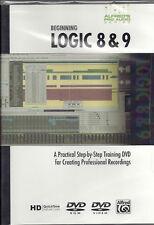 BEGINNING LOGIC 8 & 9 TUTOR DVD NEW LEARN