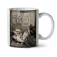 Retro Bike Foto Vintage Bicycle NEW White Tea Coffee Mug 11 oz   Wellcoda