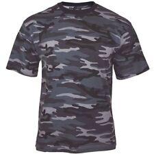 Mil-Tec Homme US Armée T-Shirt Militaire 100% Coton Dark Camo S – 3XL