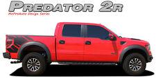 2R Raptor SVT Style Side Bed Graphics Decals Stripes 11 12 2013 2014 Ford Raptor