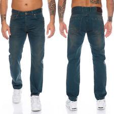 Lorenzo Loren Herren Jeans Hose Dirty-Wash Herrenjeans Denim Used-Look LL-325