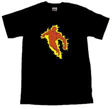 The Human Torch Jim Hammond Cool T-SHIRT ALL SIZES # Black