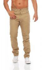 JACK & JONES - STAN ISAC - CORNSTALK - Anti Fit - Herren Jeans Beige Hose