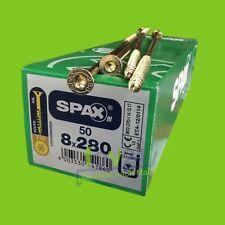 Spax Konstruktionsschrauben T-Star plus Senkkopf Torx verzinkt gelb chromatiert