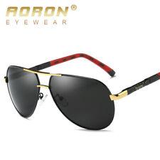 AORON Men's Polarized Sunglasses with Al-Mg Frame Unisex Womens UV400 Glasses