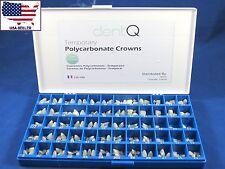 Dental Polycarbonate Temporary Crowns Kit /180 Pcs DENTQ