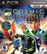 Ben 10: Ultimate Alien - Cosmic Destruction (PlayStation 3) PS3 Complete