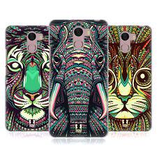 HEAD CASE DESIGNS AZTEC ANIMAL FACES 2 GEL CASE FOR WILEYFOX PHONES