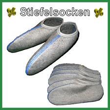 Einziehsocken Roßhaarsocken Stiefelsocken Haussocken Hausschuhe  1 bis 6 Paar